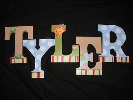 Letters Alphabet Animals Design