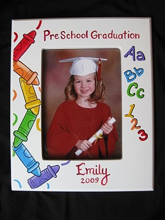 Picture Frame Preschool Graduation