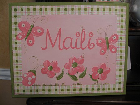 Personalized Canvas Elisabeth Design