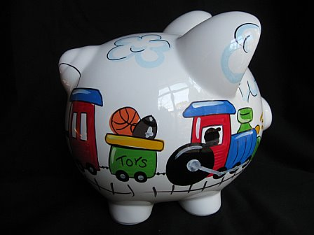 Piggy Bank Train