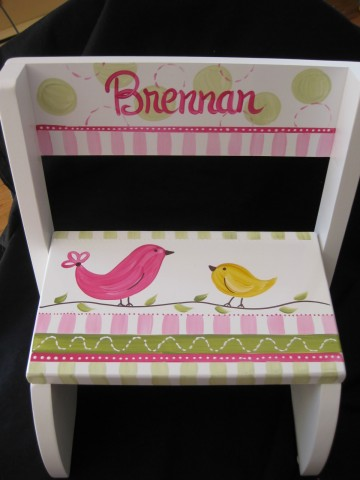 Chair Flip Step Stool Penelope