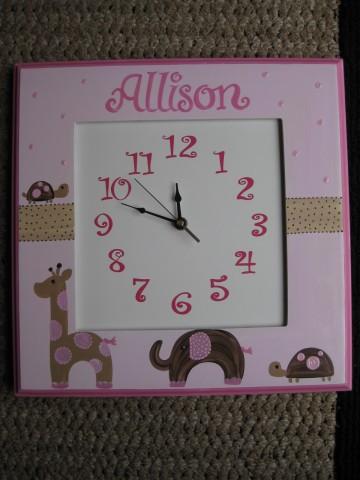 Wall Clock Emma Giraffe