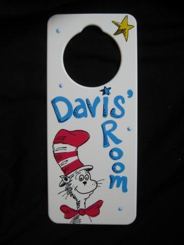 Door Hanger Cat in the Hat