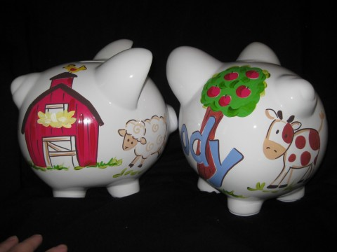 Piggy Bank Animal Acres