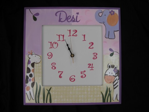 Wall Clock Jacana