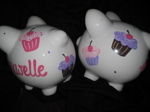 Piggy Bank Cupcakes