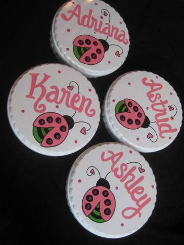 Party Favors trinket box bling ladybug