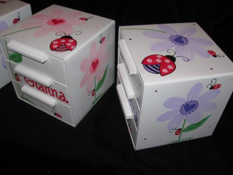 Jewelry Box Purple Heart Ladybug