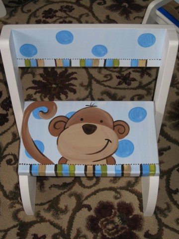 Chair Flip Step Stool Chris Monkey