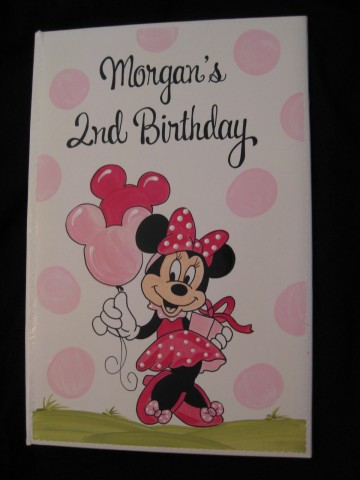 Photo Album Birthday Minnie Mouse