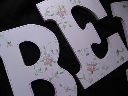 Letters Chloe Design
