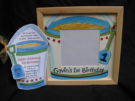 Picture Frame to match your invitation...