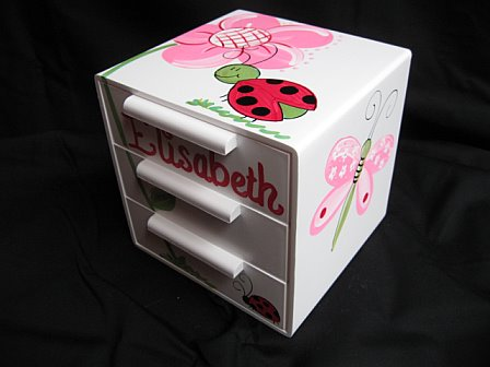 Jewelry Box Red Ladybug