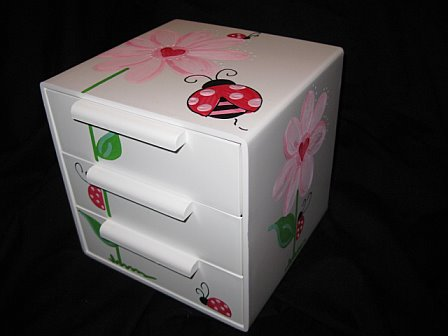 Jewelry Box Heart Ladybug
