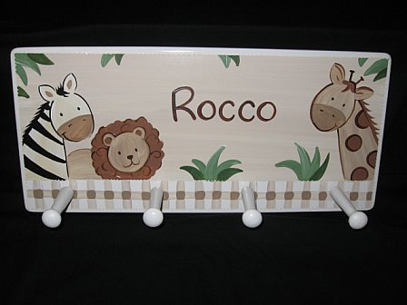 Clothes Rack Baby Cocoa Zebra