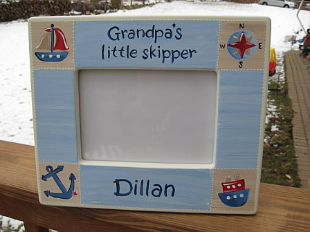 Picture Frame Nautical