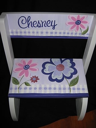 Chair Flip Step Stool Mulberry