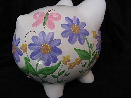 Piggy Bank Aster Design