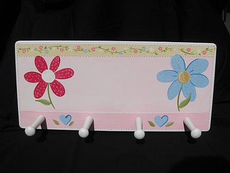 Clothes Rack Pink Daisy