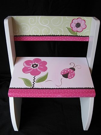 Chair Flip Stool Berry Garden