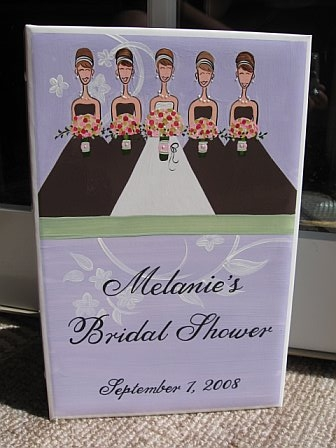 Bridal Photo Album Lavendar modern