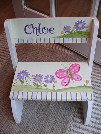 Chair Flip Step Stool Aster Design