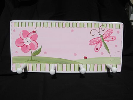 Clothes Rack Pink Dragonfly