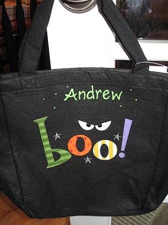Halloween BOO Tote Bag