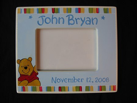Picture Frame Pooh Design