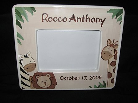 Picture Frame Baby Cocoa Zebra