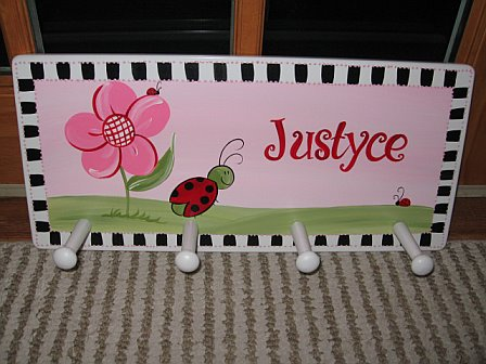 Clothes Rack Red Ladybug
