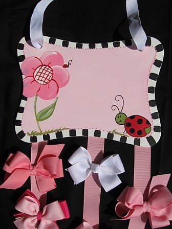 Bow Holder Red Ladybug