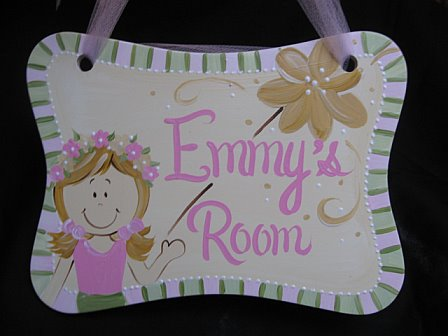 Door Sign Fairy Design