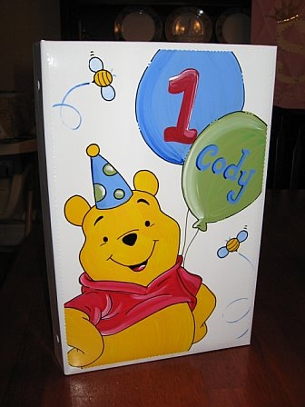 Photo Album Winnie the Pooh Birthday