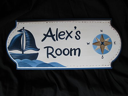 Door Sign Nautical