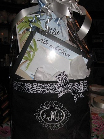 Bridal Honeymoon never end gift basket