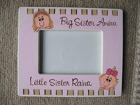 Personalized Picture Frame Big Sister