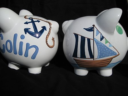 Piggy Bank Ahoy Mate