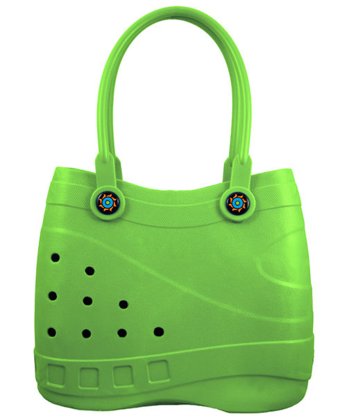 Sol Tote Lime Green