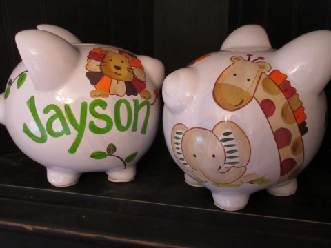 piggy bank nali boy jungle