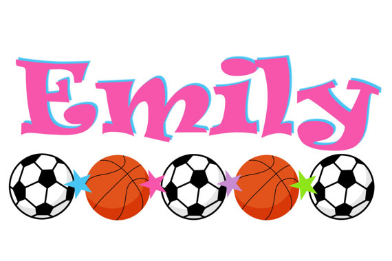 Pillow case Girls Sports Soccer and Basketball