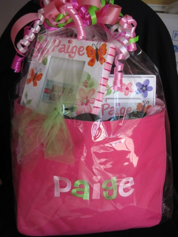 Tote Bag Name hot pink - bag only
