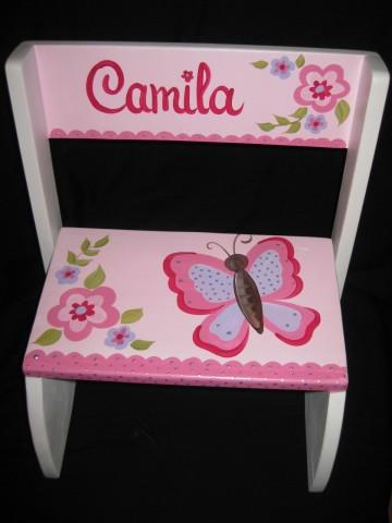 Chair Flip Step Stool Camilla