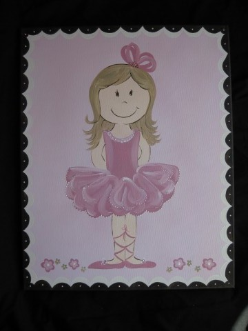 Canvas Bellerina Bling