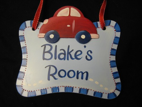 Door Sign Car