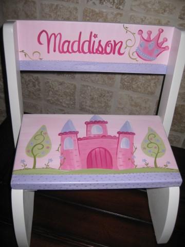 Chair Flip Step Stool Princess Castle