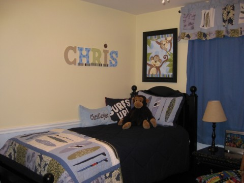 Chris Wall Letters and Canvas