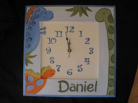 Wall Clock Little Dino