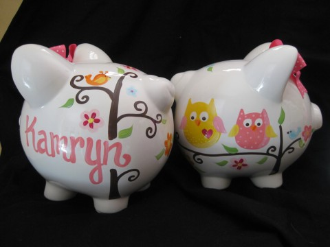 Piggy Bank Dena Owl