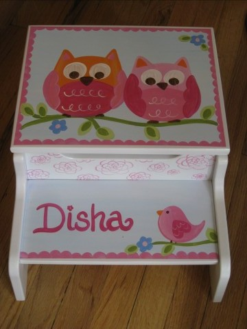 Storage Stool Disha Owl